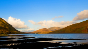 salmon and sea trout fishing-on-the-shores of a kylemore lough
