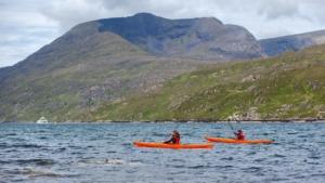 kayaking on killary fjord leenane