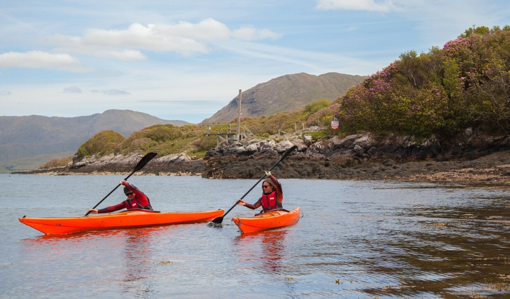 kayaking on the killary fjord leenane connemara