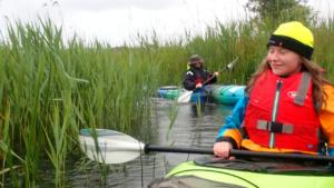 kayaking on the river corrib galway city