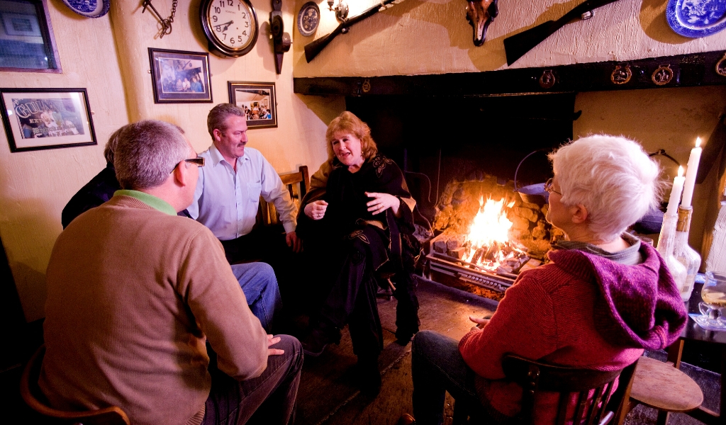 old traditional storytelling tales from connemara