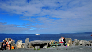 return ferry from rossaveal to aran islands
