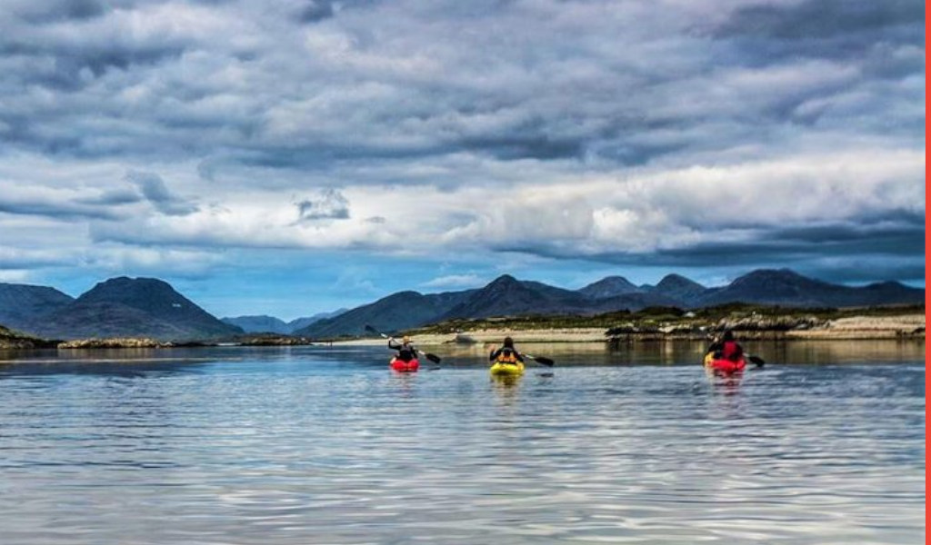 Kayaking in Connemara
