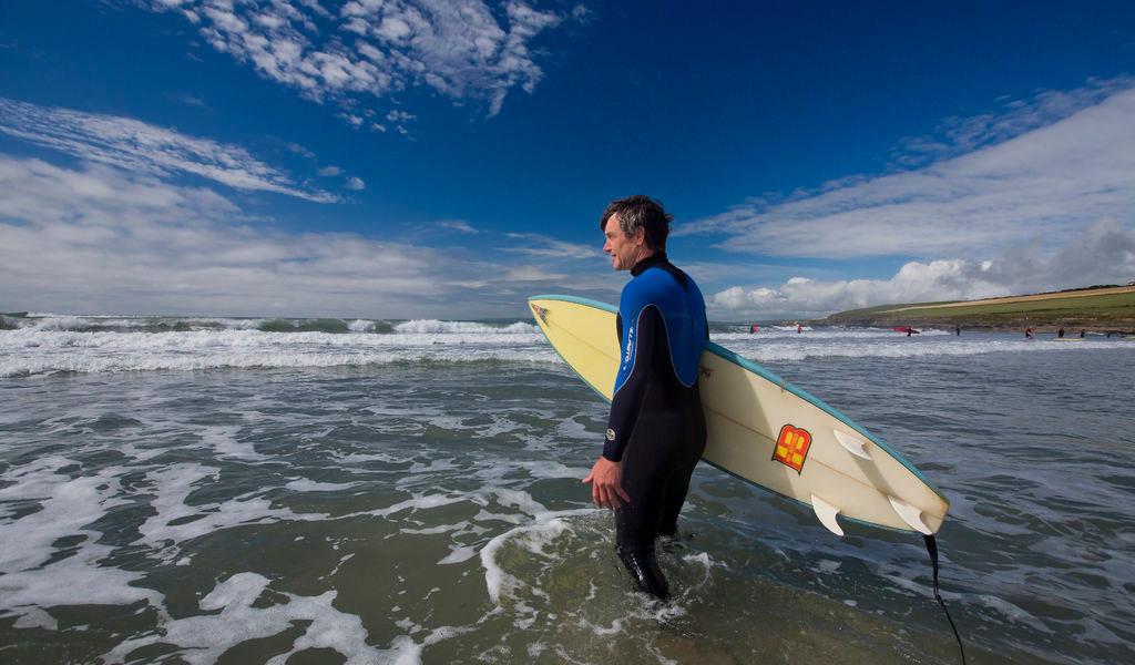 Surfing in Connemara