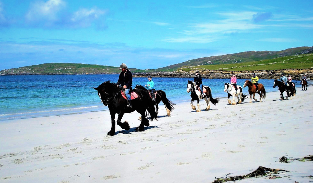 Horse Riding Beach Galway
