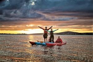 Sunset kayaking Connemara Ireland 2