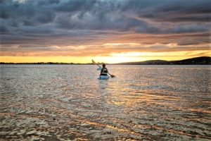 Sunset kayaking Connemara Ireland 3