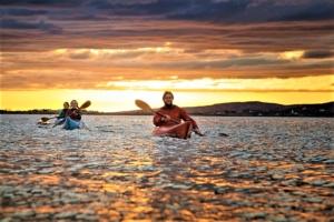 Sunset kayaking Connemara Ireland 4